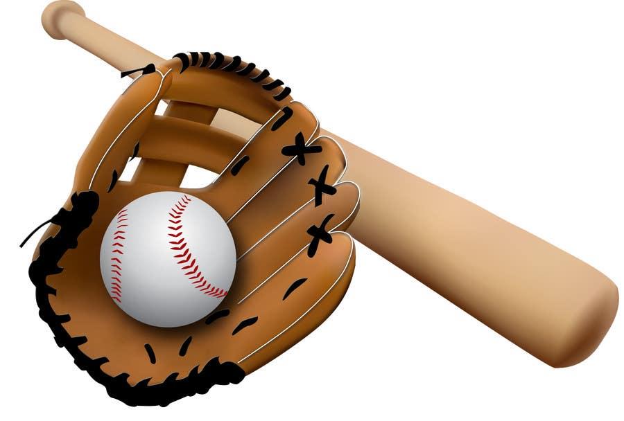Baseball  Softball Bat amp Ball Clipart! PNG transparenter