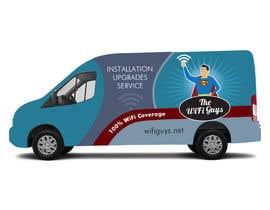 ArtCulturZ tarafından In need of a vintage van wrap design for a wifi service company için no 30