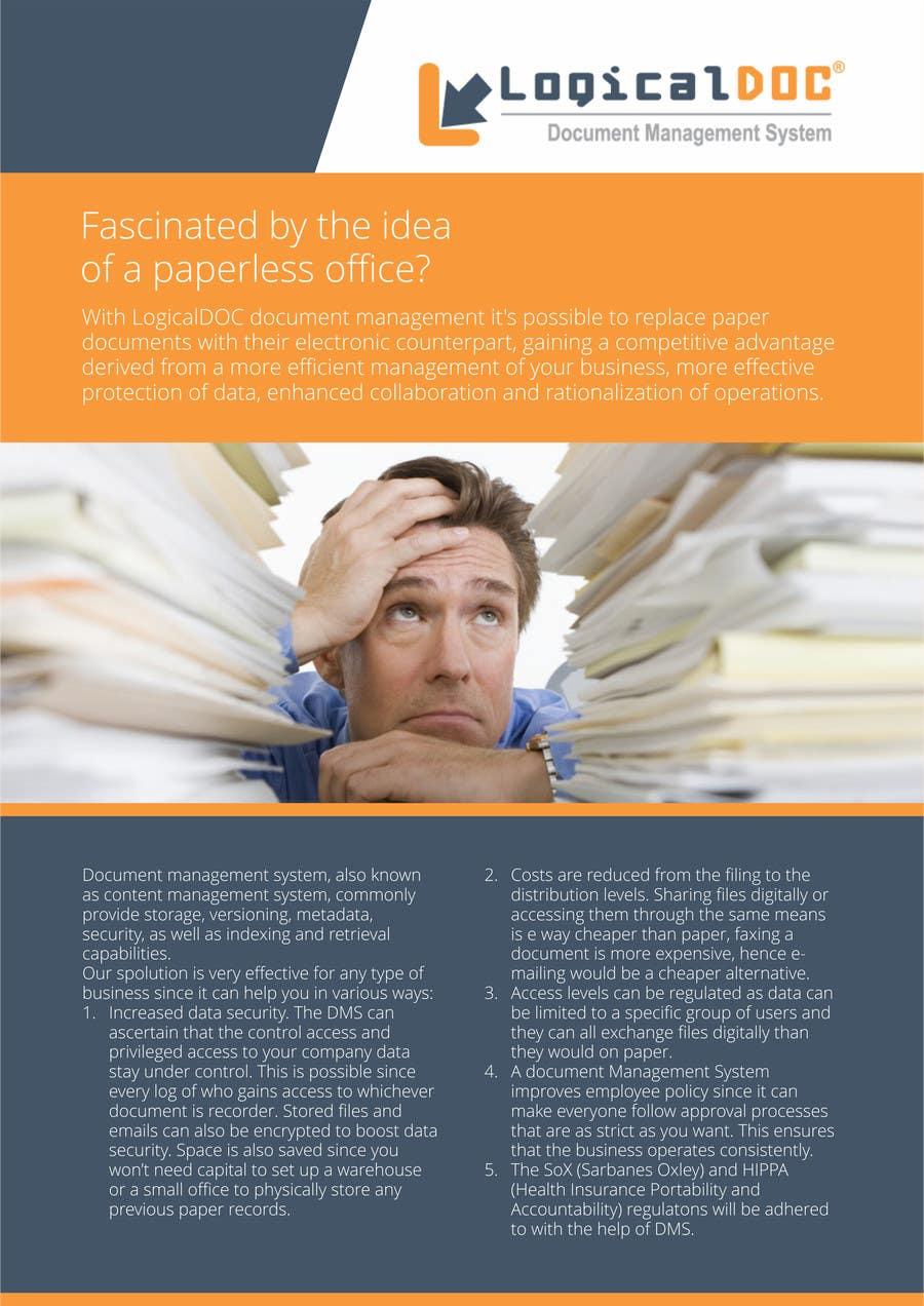 Konkurrenceindlæg #                                        16                                      for                                         A4 Brochure design for Marketing