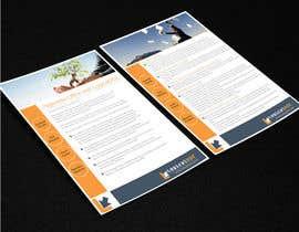 #17 for A4 Brochure design for Marketing af ArtCulturZ