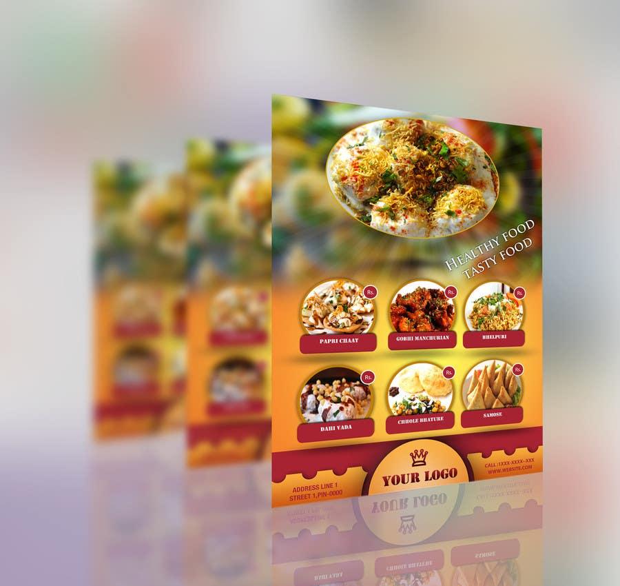 Bài tham dự cuộc thi #                                        2                                      cho                                         Design a Flyer for a new indian snack menu