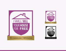 RBM777 tarafından Logo Design for I Will Sell Your House For Free için no 88