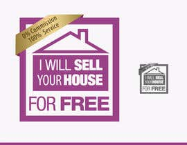 RBM777 tarafından Logo Design for I Will Sell Your House For Free için no 90
