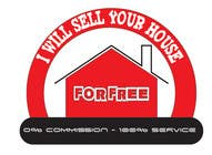Graphic Design Конкурсная работа №218 для Logo Design for I Will Sell Your House For Free