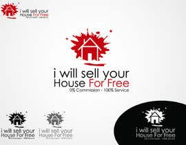 #45 for Logo Design for I Will Sell Your House For Free by khalidalfares