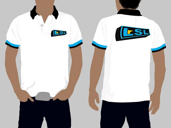 Entry 25 by adowu for design a corporate polo t shirt for for Corporate t shirt designs