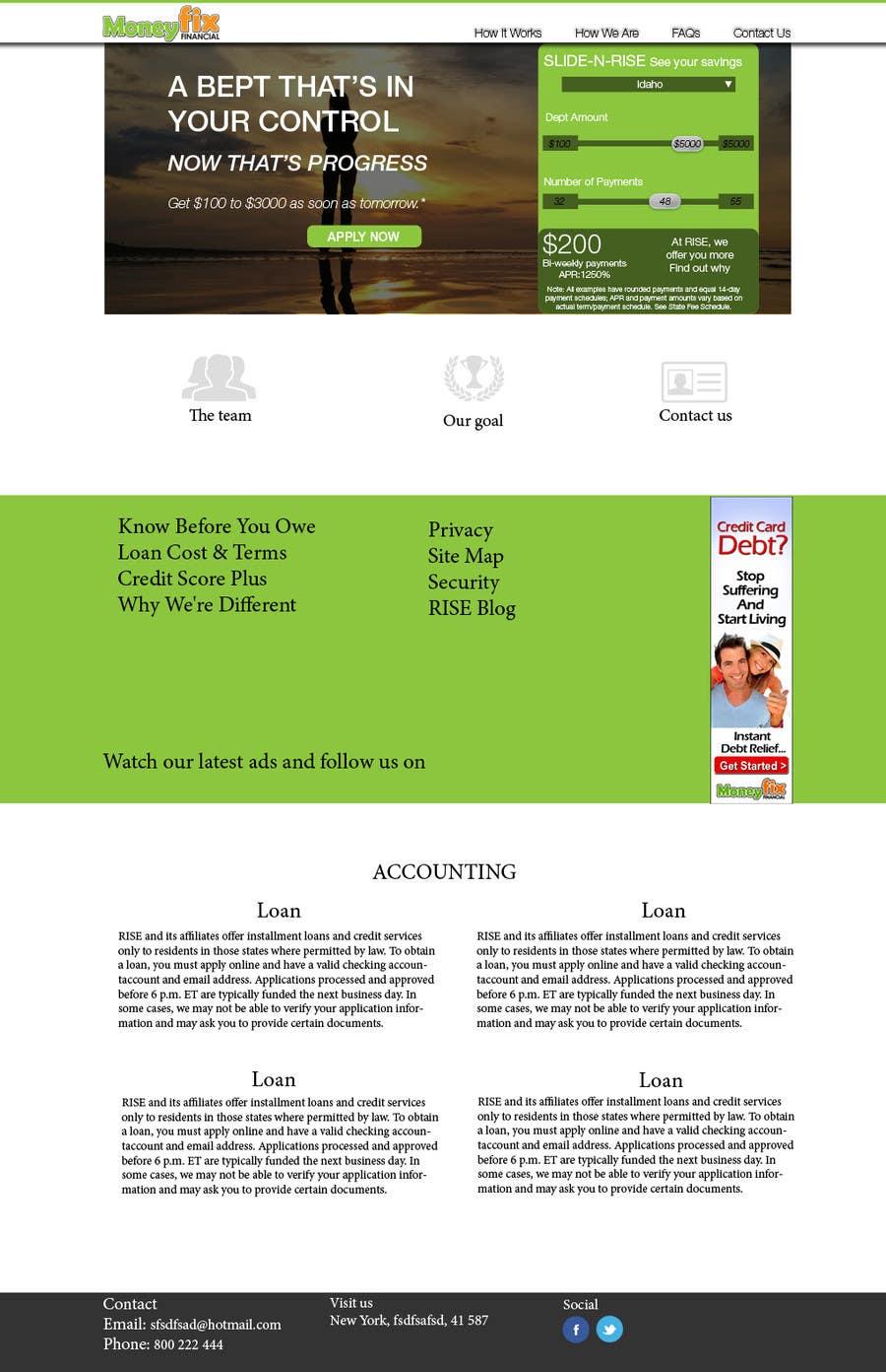#15 for Design a Website PSD New design by ChristianZg