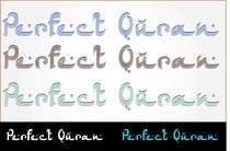 Graphic Design Inscrição do Concurso Nº373 para Logo Design for PerfectQuran
