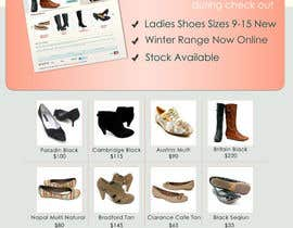 #93 untuk Brochure Design for Big On Shoes- Online Shoe Retailer oleh livreta