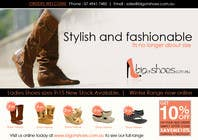 Graphic Design Contest Entry #80 for Brochure Design for Big On Shoes- Online Shoe Retailer