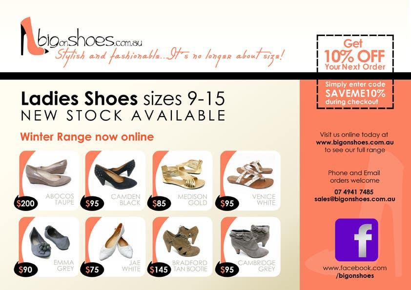 Brochure Design for Big On Shoes- Online Shoe Retailer | Freelancer