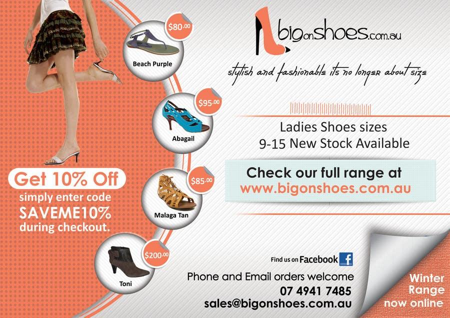 Inscrição nº                                         95                                      do Concurso para                                         Brochure Design for Big On Shoes- Online Shoe Retailer