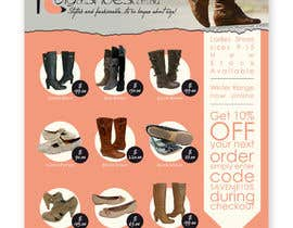 #37 for Brochure Design for Big On Shoes- Online Shoe Retailer by imaginativeGFX