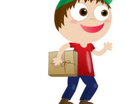 #7 para 2 vector cartoons of a young delivery boy por EndorphinDesign