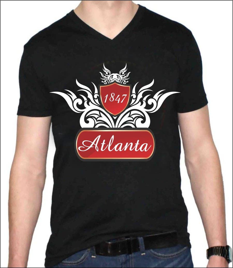Entry 162 By Mansiartist1 For Design A T Shirt For The Word Atlanta