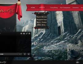 #20 untuk Design a MAGICAL Website Mockup oleh Moesaif