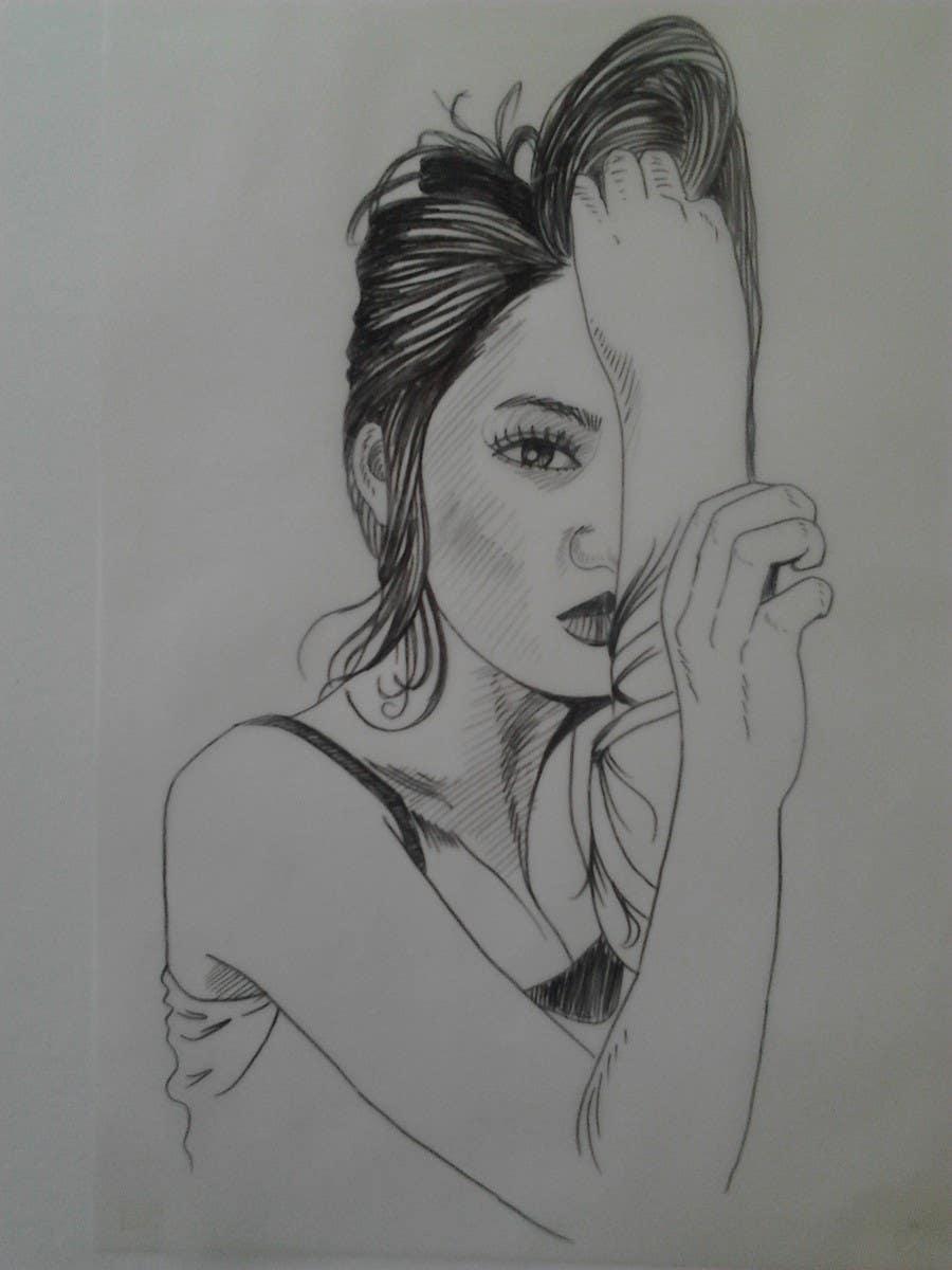 Contest entry 282 for 35 winners portrait sketch pen pencil