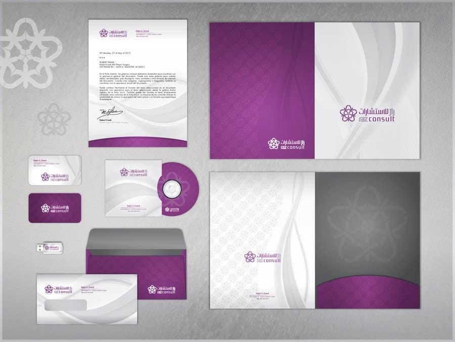 Proposition n°                                        111                                      du concours                                         Stationery Design for RAZ