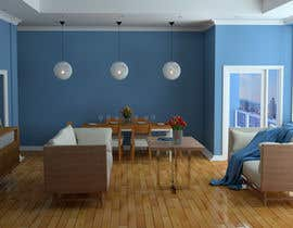 #19 para Apartment unit interior 3d design de DianaKudria