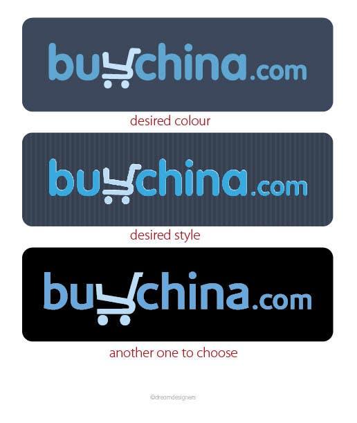 Bài tham dự cuộc thi #371 cho Logo Design for buychina.com