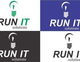 #24 para Projetar um Logo para a empresa RunIT Solutions por ubiratacribeiro