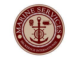 #67 para Logo Design for Marine Services Brokerage International por rogeliobello