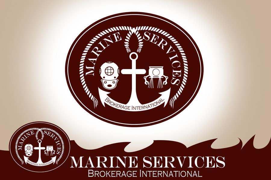 Inscrição nº                                         57                                      do Concurso para                                         Logo Design for Marine Services Brokerage International