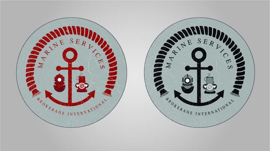 Inscrição nº                                         54                                      do Concurso para                                         Logo Design for Marine Services Brokerage International