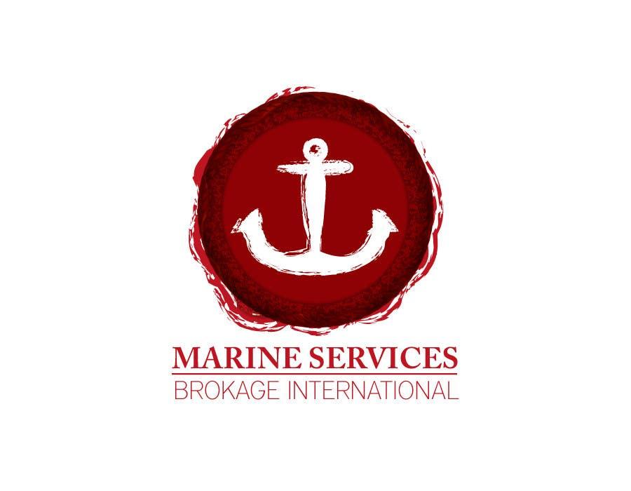Inscrição nº                                         46                                      do Concurso para                                         Logo Design for Marine Services Brokerage International