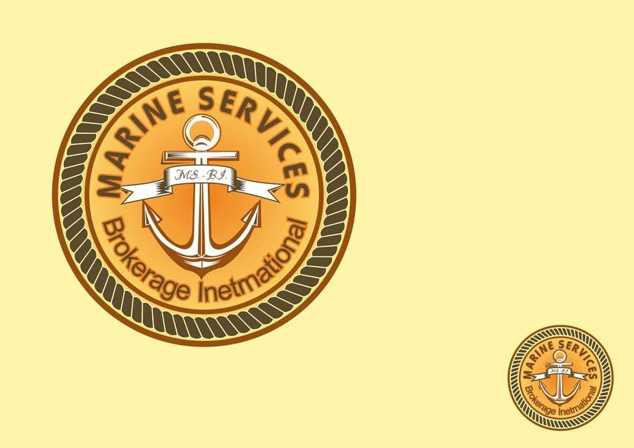 Inscrição nº                                         115                                      do Concurso para                                         Logo Design for Marine Services Brokerage International