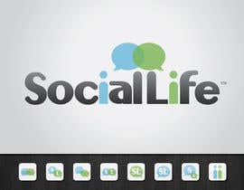 #140 pentru Check it Out! - Logo Design for SocialLife de către tiffont