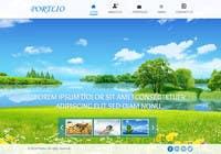 Contest Entry #21 for Design a Website Mockup for Portfolio