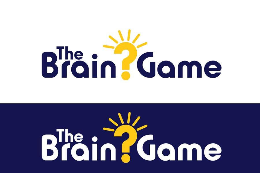 Penyertaan Peraduan #156 untuk Logo Design for The Brain Game