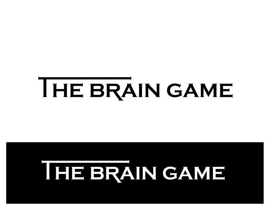 Конкурсная заявка №65 для Logo Design for The Brain Game