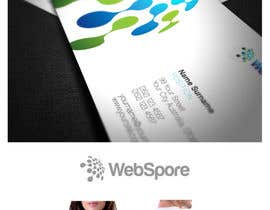 #66 para Logo Design for WebSpore LLC por maidenbrands