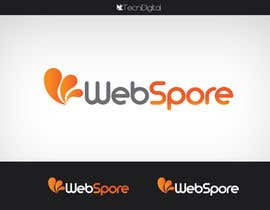 #41 para Logo Design for WebSpore LLC por tecnidigital