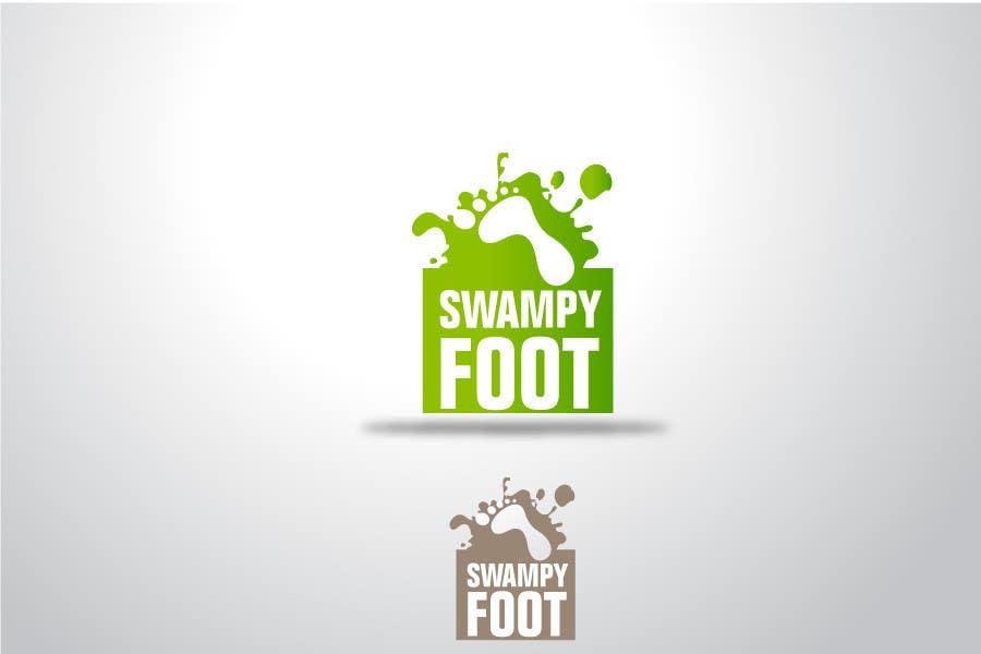 Kilpailutyö #281 kilpailussa Logo Design for SwampyFoot