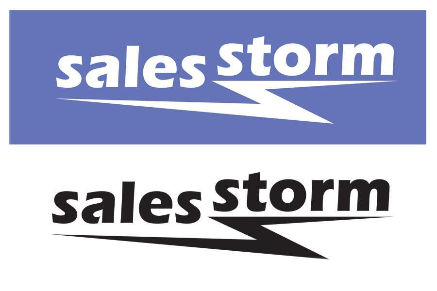 Contest Entry #                                        37                                      for                                         Logo Design for SalesStorm