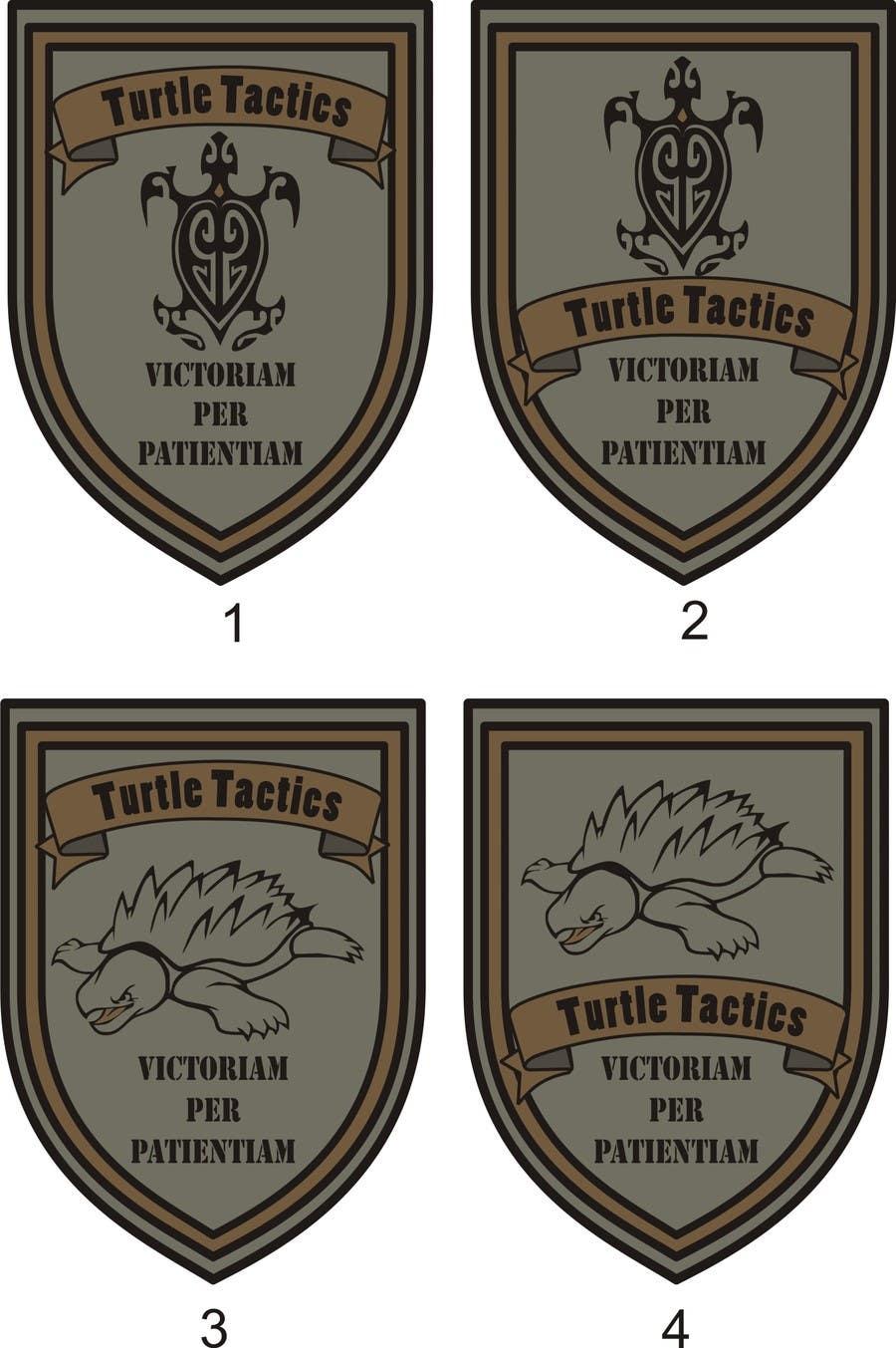 Penyertaan Peraduan #                                        1                                      untuk                                         Design a military patch