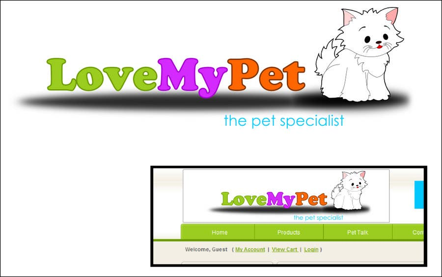 Inscrição nº 31 do Concurso para Logo Design for Love My Pet