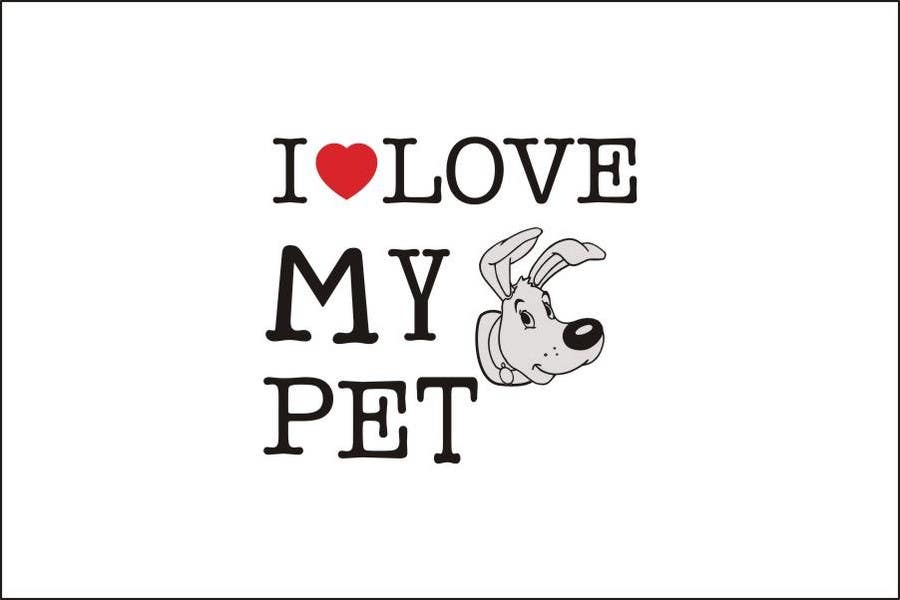 Contest Entry #161 for Logo Design for Love My Pet