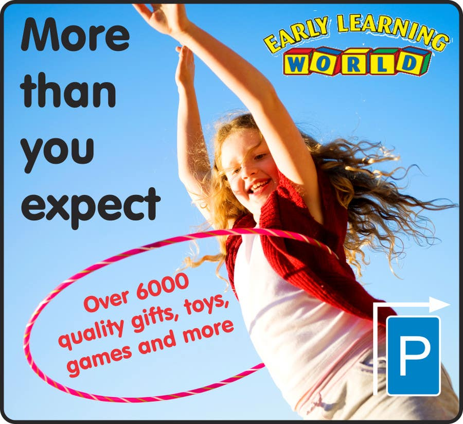 Proposition n°                                        18                                      du concours                                         Banner Ad Design for Early Learning World UPDATED