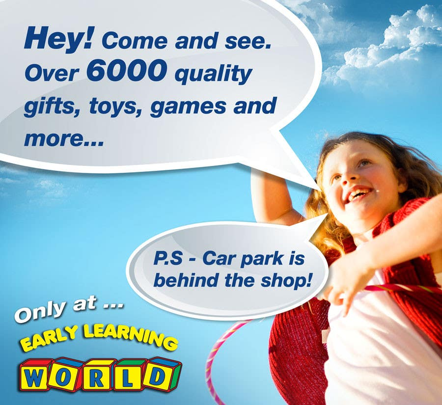 Proposition n°                                        16                                      du concours                                         Banner Ad Design for Early Learning World UPDATED
