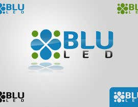 #86 for Logo Design for Blu LED Company af Atmoresamu