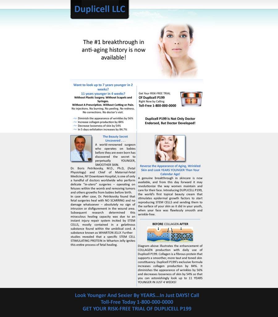 #7 for Website Design for Duplicell LLC by vSchalkwyk