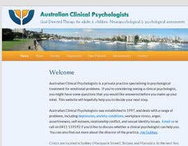 #115 para Logo Design for Australian Clinical Psychologists por CristianLuca