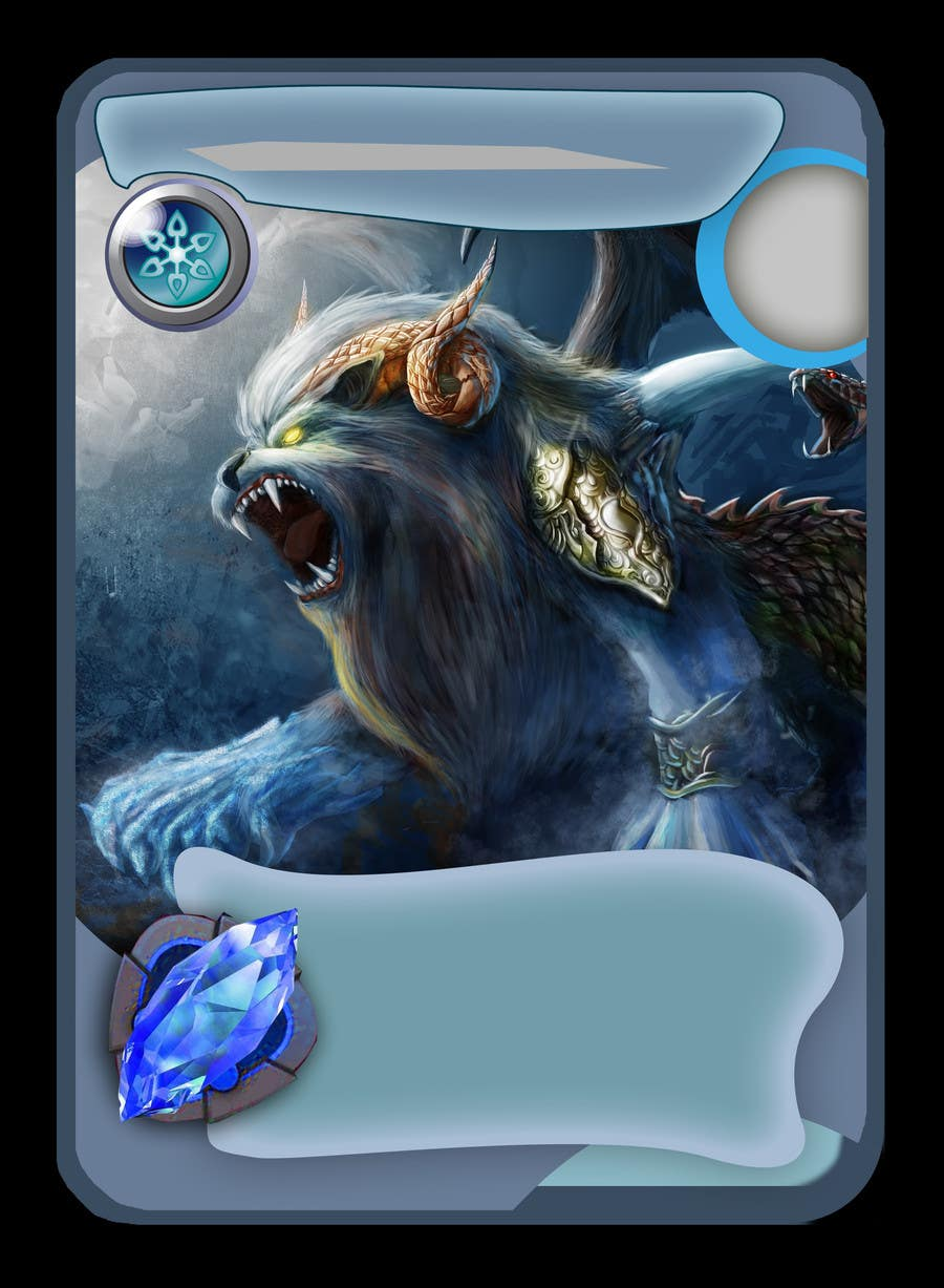 #1 for Online Trading Card Game - Card Layout & Design by FireStorm3D