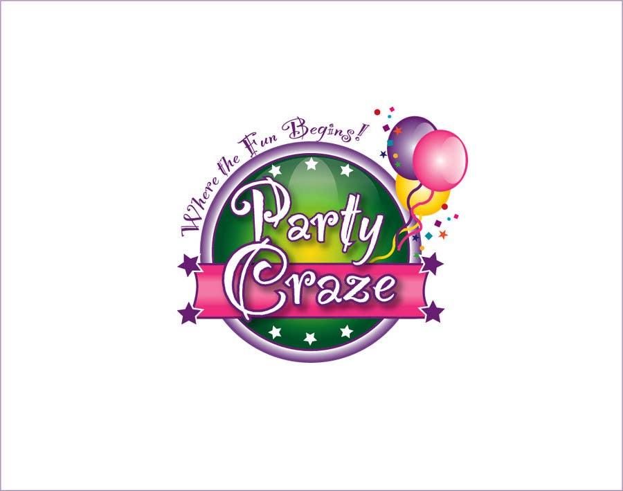 logo design for party craze com au freelancer