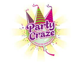 #127 untuk Logo Design for Party Craze.com.au oleh theideascrew