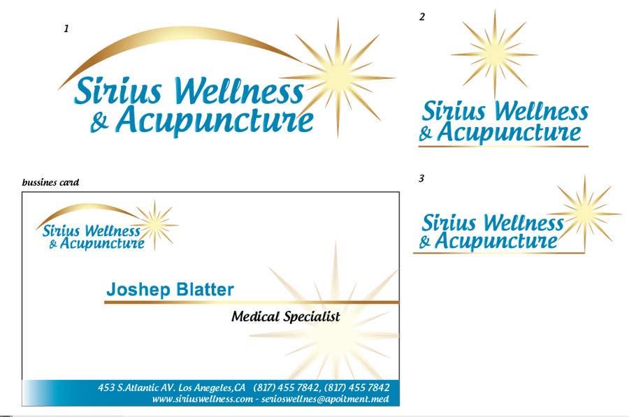 Penyertaan Peraduan #                                        12                                      untuk                                         Design Business Card and Logo for a Alternative Medical Clinic